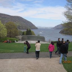 A Hudson West Point-nál.