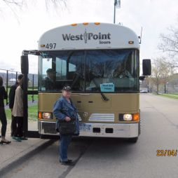 A buszunk, West Point