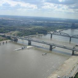 A Mississippi St. Louis-nál