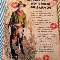 A boldog férfiélet 5 szabálya
