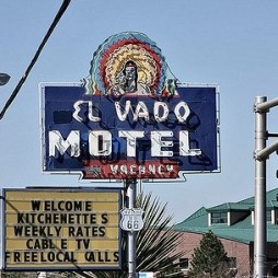 Az ikonikus El Vado Motel, Albuquerque NM. Re-opening in 2017 summer