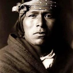 Acoma Brave Pueblo indián