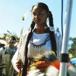 Afro-indián amerikai cherokee lány
