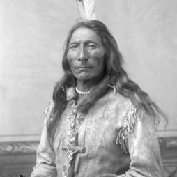 Long Feather (Hosszú Toll), Cherokee Blackfoot Chief