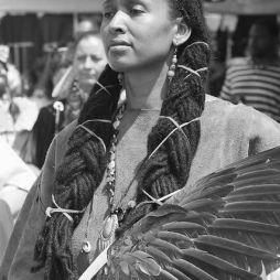 Cherokee-fekete indián nő.