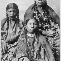 Cheyenne lányok, 1895.