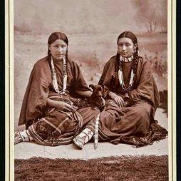 Cheyenne nővérek, Oklahoma Territory 1890.
