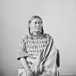 Ear of Corn (Lone Wolf felesége), Oglala 1872.