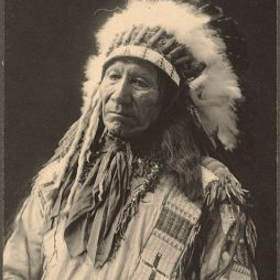 Chief American Horse, Oglala-Lakota-Sioux Nation, 1899.