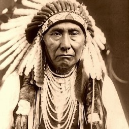 Chief Crazy Horse, ca. 1840 Rapid City, South Dakota - 1877.05.07.