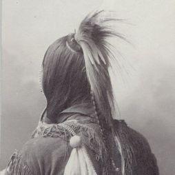 Kiowa indián, 1898.