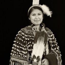 Navaho lány