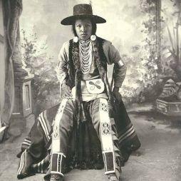 Nez Perce indián, WA, 1899.