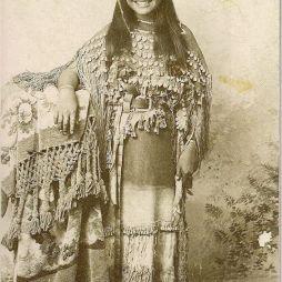 Oyebi lány, Kiowa Törzs ca. 1894.