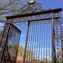 Vanderbilt kapu, a Conservatory Garden főbejárata, Central Park