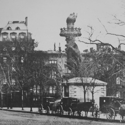 A fáklya a Madison Square Parkban via The Visual Blog