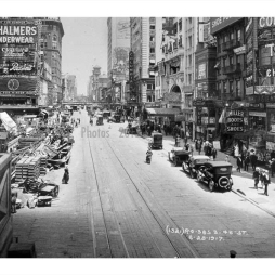 1917-ben a Time Square/7th Ave.