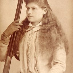 Annie Oakley ca. 1880. Bakers Art Gallery